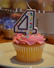 Birthday Cupcake by Joe Shlabotnik, on Flickr [used under Creative Commons license]