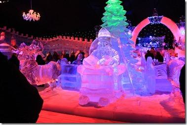 Sneeuw en Ijssculpturen festival