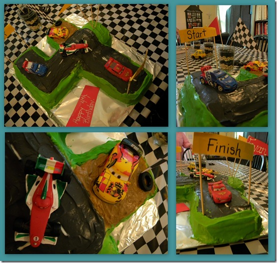 Birthday Cake Collage Imagechef : Simply Adriane: A Cars 2 birthday party