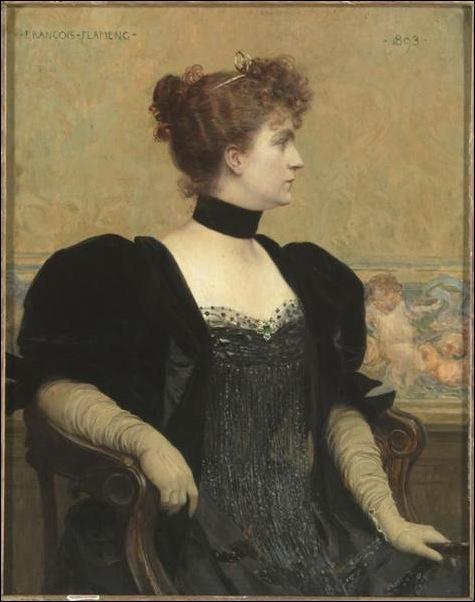 François Flameng, Madame Flameng