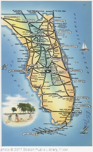 'Map of Florida' photo (c) 2011, Boston Public Library - license: http://creativecommons.org/licenses/by/2.0/