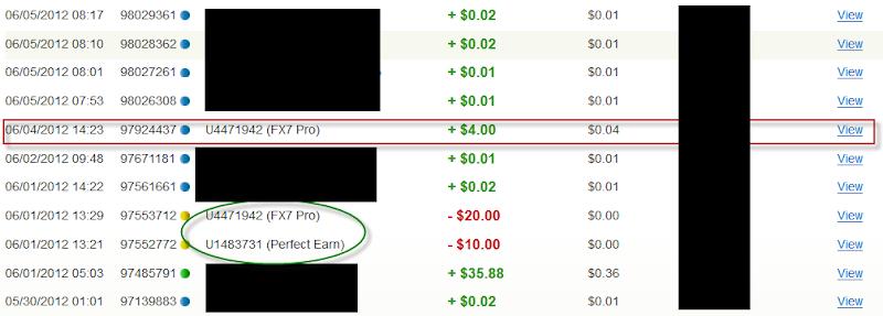 Bukti Pembayaran fx7pro.com (Pembayaran Pertama $4 USD)