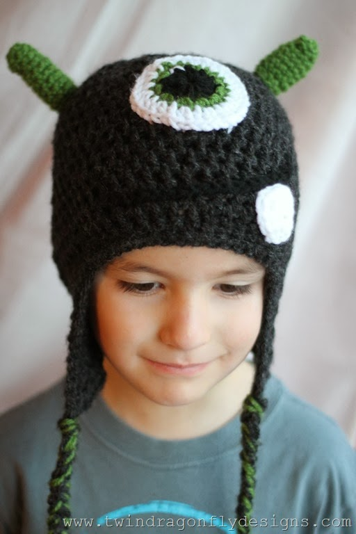 Crochet Monster Hat (30)