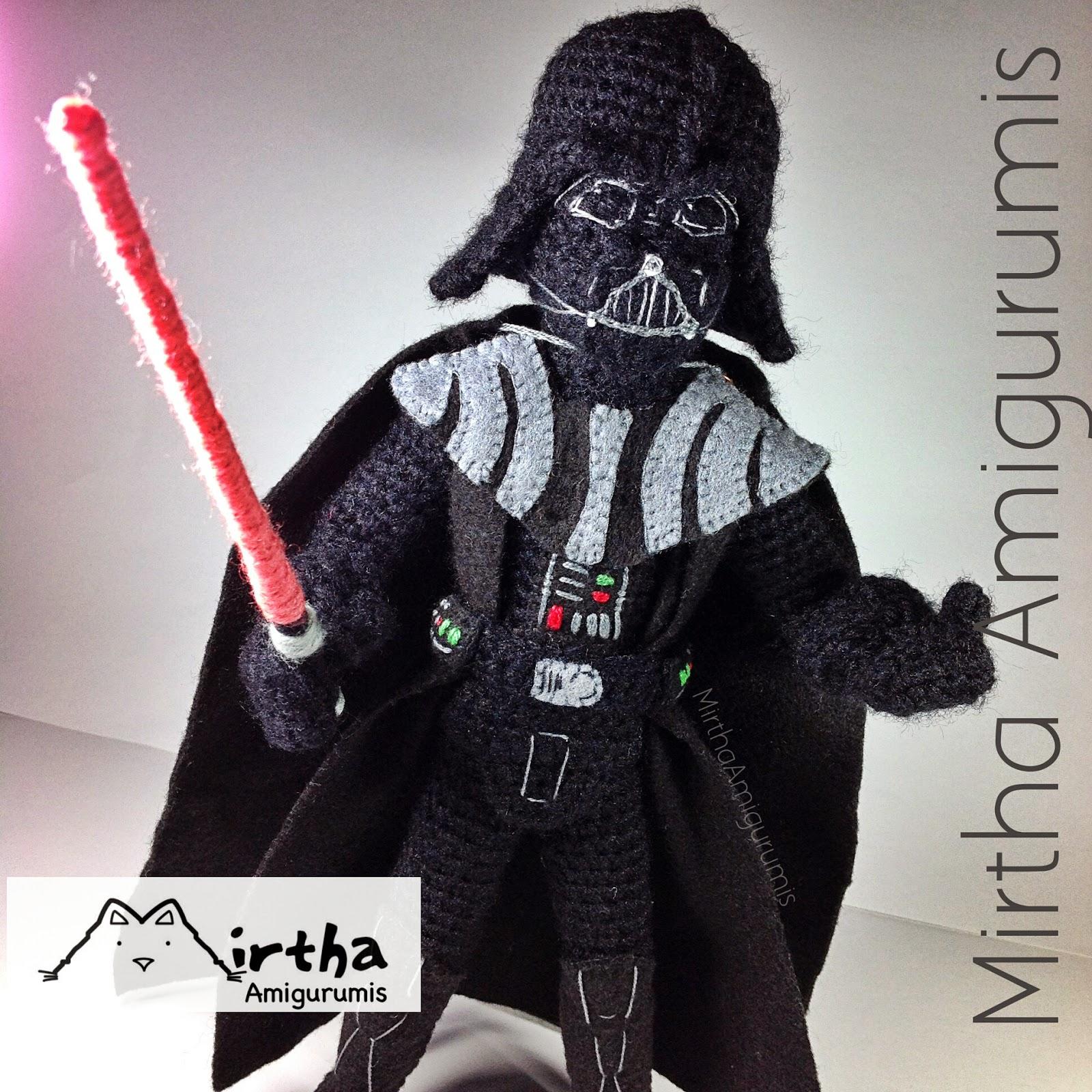 Mirtha Amigurumis: Darth Vader Amigurumi star wars (NOT ...