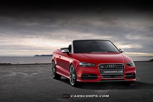 2014 Audi A3 Convertable TopDown