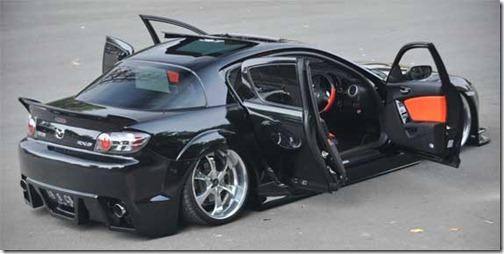 mazda rx8 interior custom. modification mazda rx8 black 2003 sound audio rx8 interior custom