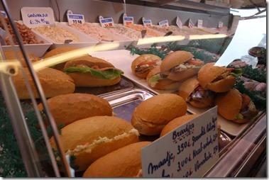 maatjesサンド(Zaterdagmarkt van Antwerpen)