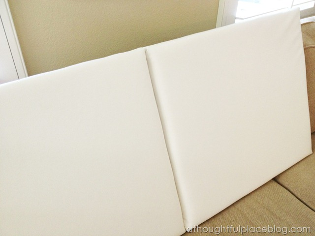 Diy How To Make A Paneled Padded Headboard A