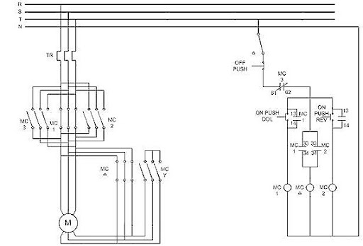 Direct on Line starting  sc 1 st  Power Electronic Systems Applications and Resources on ... : three phase induction motor wiring diagram - yogabreezes.com