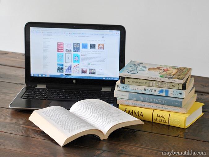 Reader survey at www.maybematilda.com