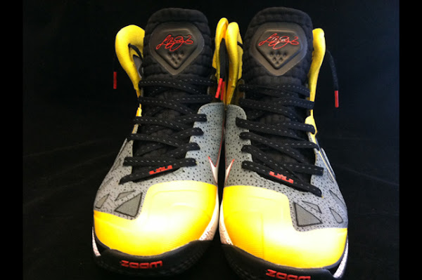 PMK x Nike LeBron 9 PS Elite 8220Concrete Taxi8221 Custom