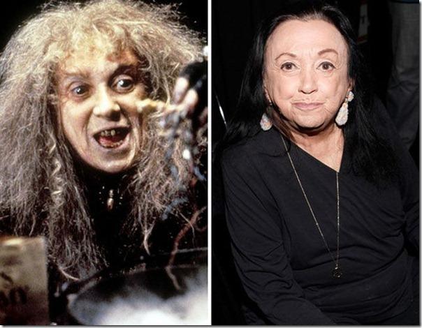 A família Addams antes e agora (3)
