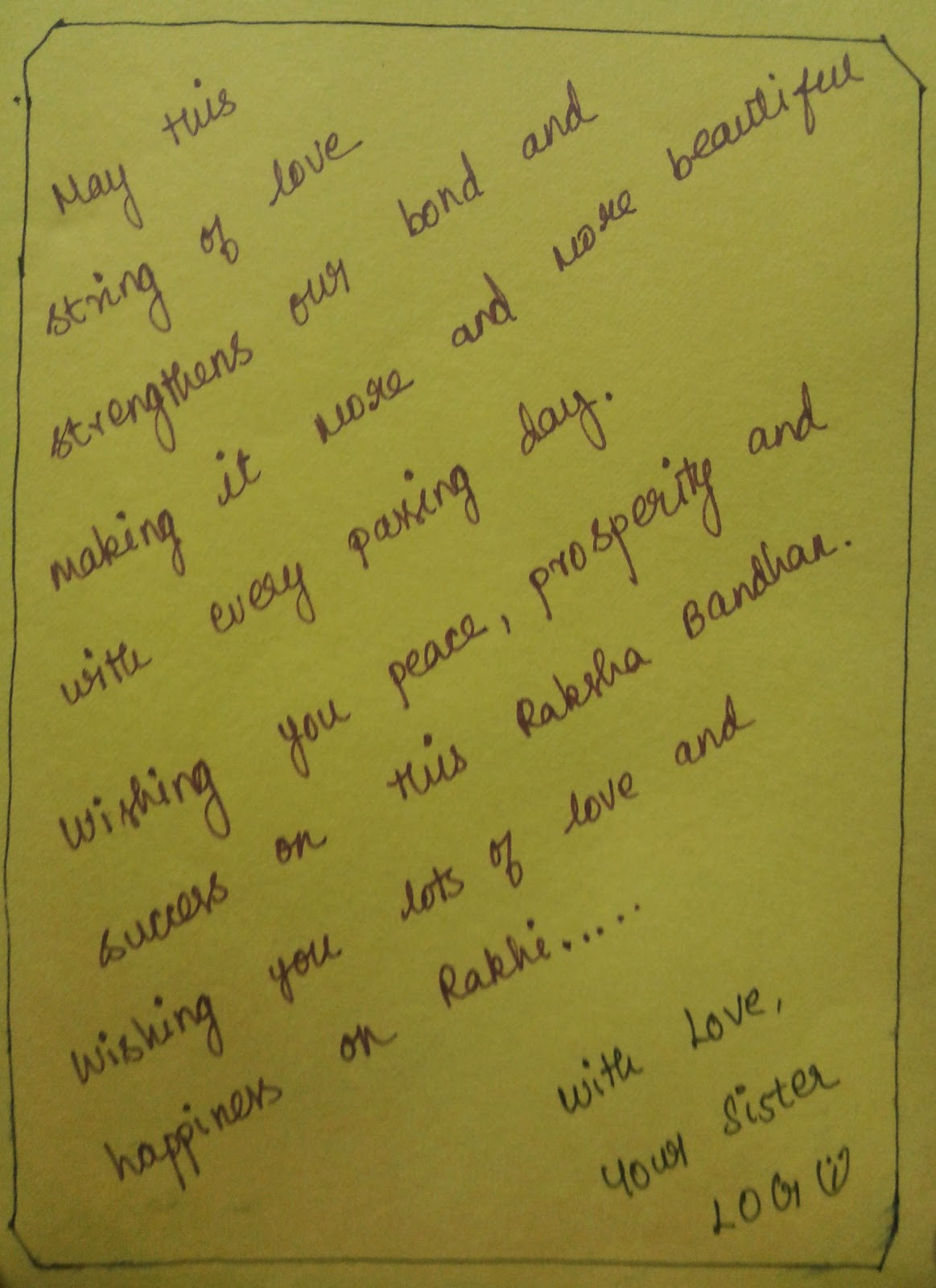 Letter Writing Hindi To English