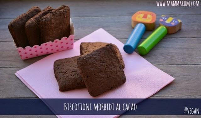 Biscotti morbidi vegan cacao