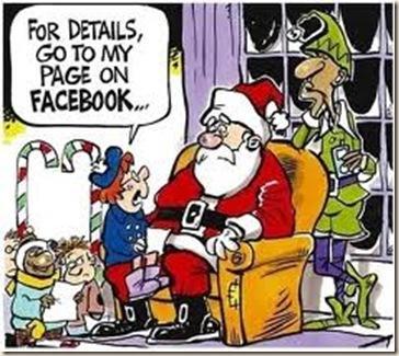 facebook santa