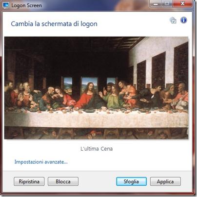 Logon Screen for Windows 7