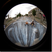 Foto Virtual 3D Lukisan jalanan lucu unik aneh blogspot com (6)