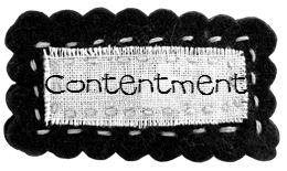Character Building Contentment