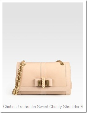 Chritina Louboutin Sweet Charity Small Shoulder Bag