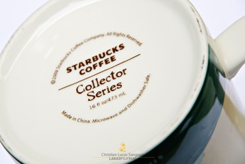 Underside of Starbucks Coffee Collector Series