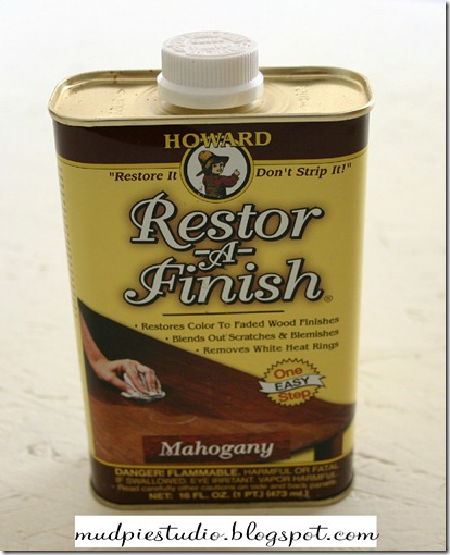 restore a finish and sm
