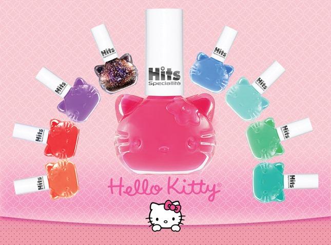 Esmaltes Hello Kitty – Lançamento Hits Speciallità.