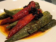 Mixed Hot Peppers with Fermented Beans and Chilli Soy Sauce