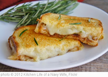 'Rosemary Apple Butter Grilled Cheese Sandwich' photo (c) 2012, Kitchen Life of a Navy Wife - license: https://creativecommons.org/licenses/by/2.0/