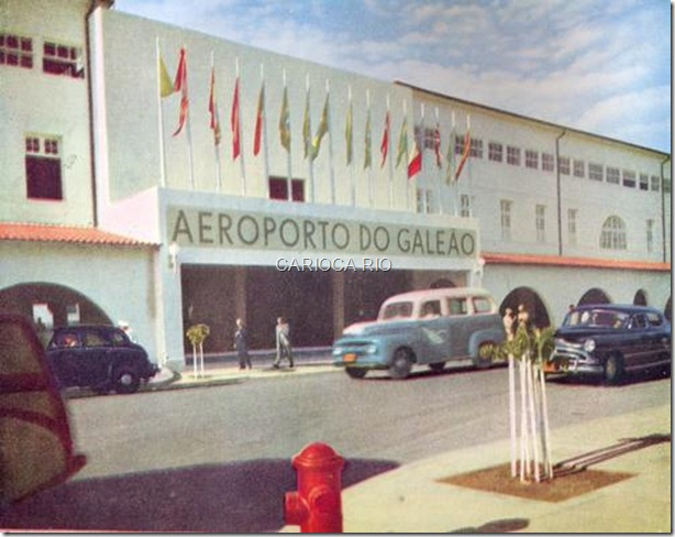 Aeroporto Internacional do Galeão - 1952