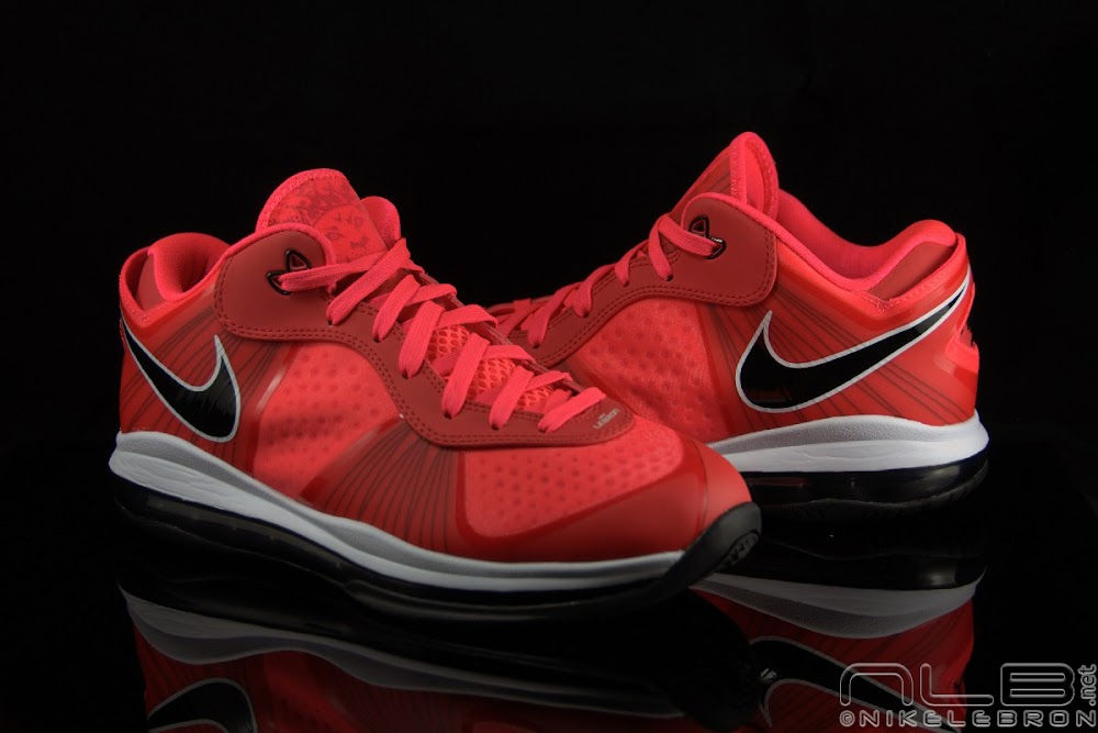 lebron 8 low red - photo #15
