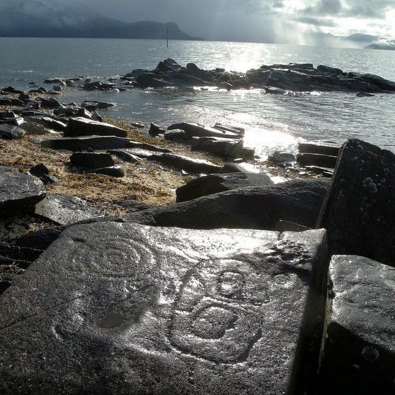 Petroglyph Beach in Wrangell, Alaska