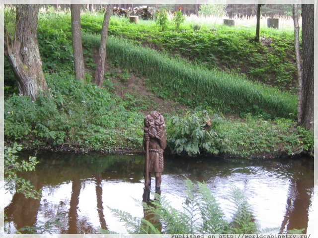 Сказочный мир литовского скульптора Антанаса Чеснулиса