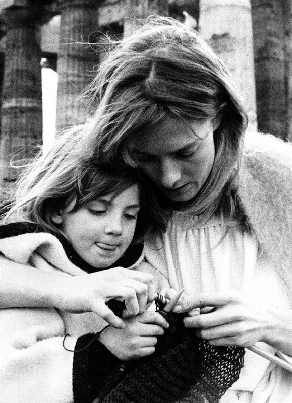 Vanessa Redgrave and Natasha Richardson