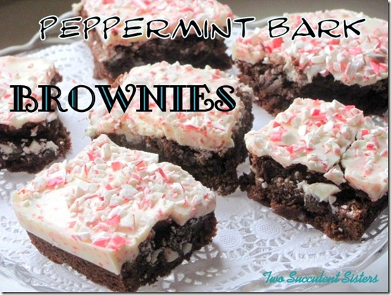 Brownie peppermint text
