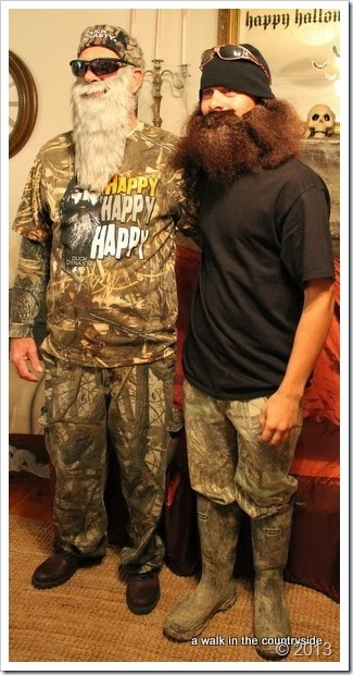 duck dynasty for halloween