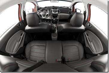 Interior EcoSport Titanium