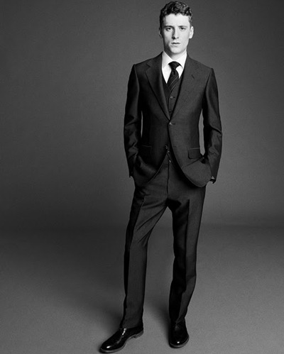 George Barnett by Paul Wetherell for Dunhill, F/W 2011