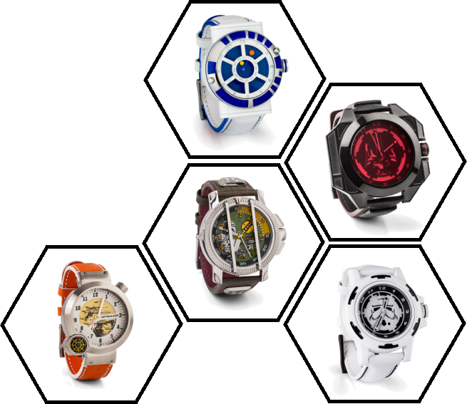 Designer Star Wars Watches from ThinkGeek