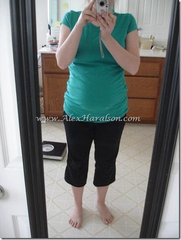 Large Maternity Shirt Ruched Side Shirt7