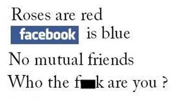 facebook poem