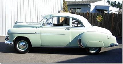 1950 chev 437 miles