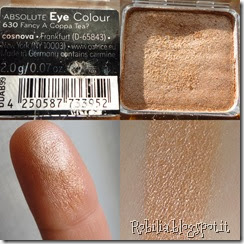 catrice eyeshadow 630 Fancy a coppa tea