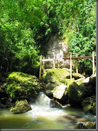 cool local waterfalls phillippines davao samal island