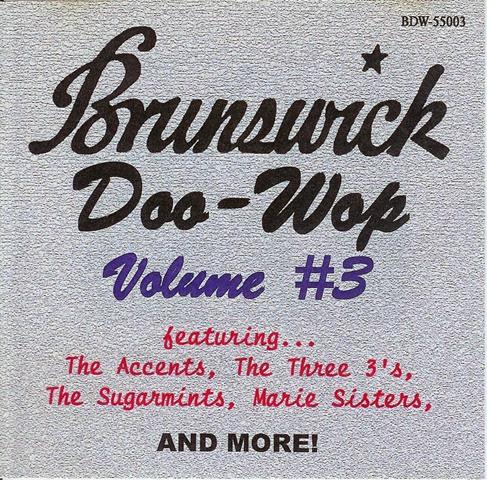 Brunswick Doo-Wop, Vol 3 - front