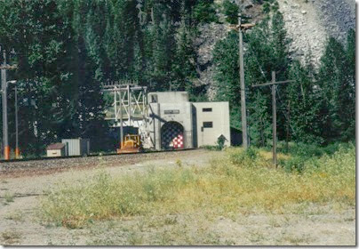 East Portal of the Cascade Tunnel at Berne, Washington in 2000