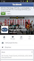 Screenshot of KHYI The Range