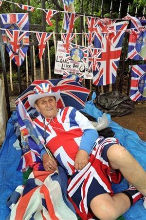 цвета британского флага