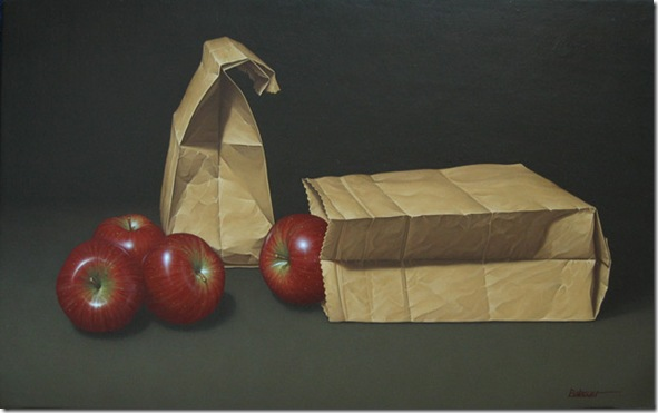 Bosses de paper i pomes