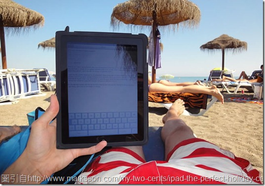 ipad-on-the-beach