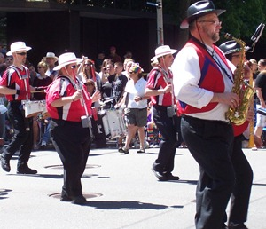 More marching band